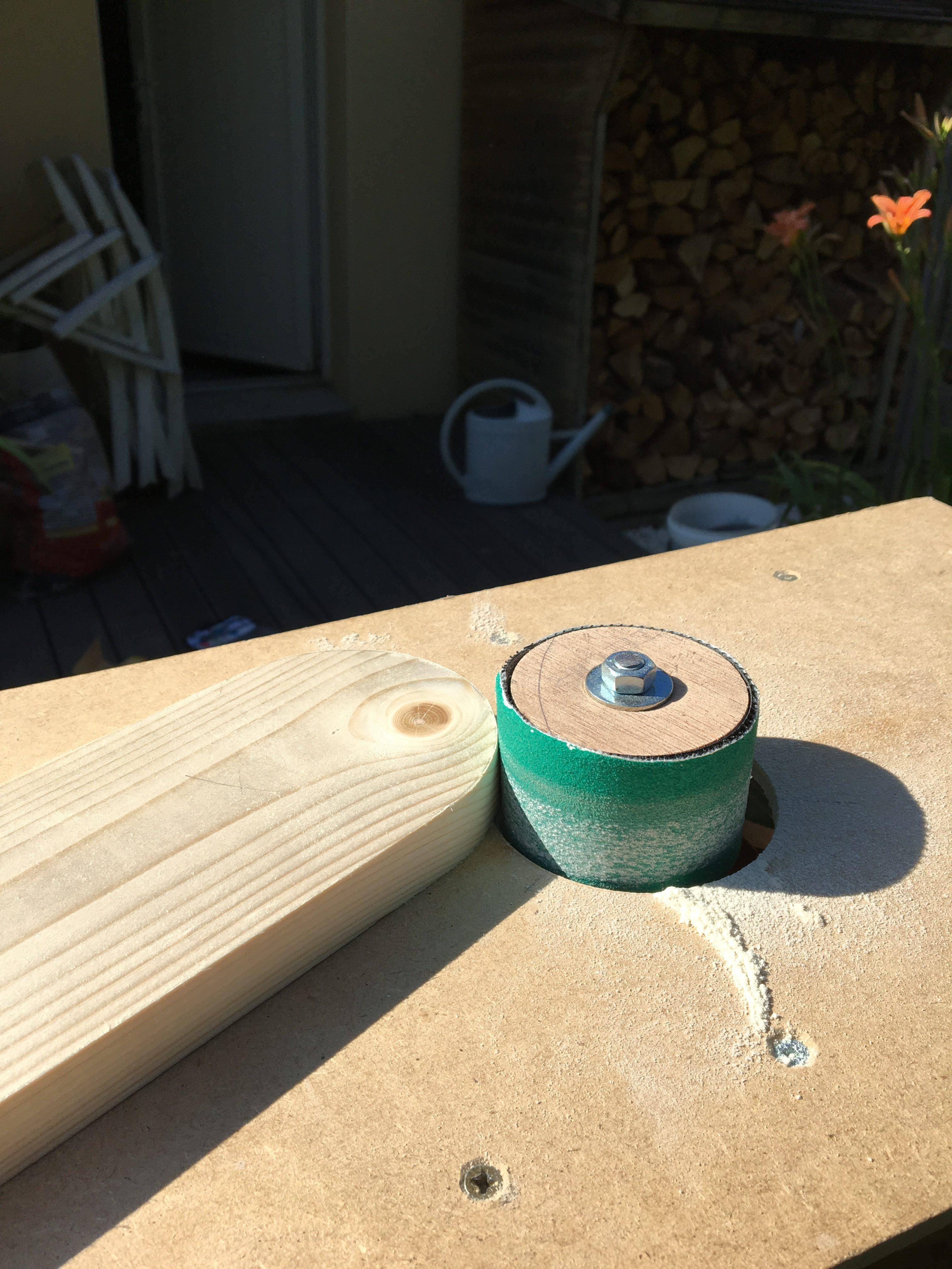 Ponceuse sur Cylindre